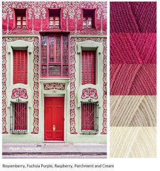 MB pink-building