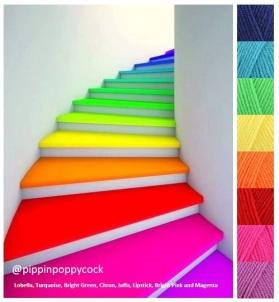 MB rainbowsteps